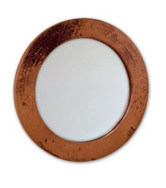 "30"" Round Copper Mirror"