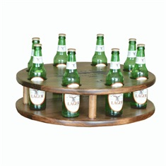 8 Beer Lazy Susan Personalized