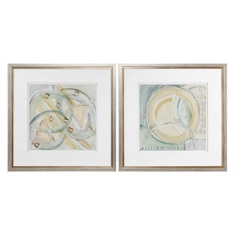 Uttermost Abstracts Framed Prints S/2