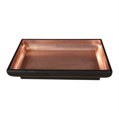 Aksel Copper Foil Bowl