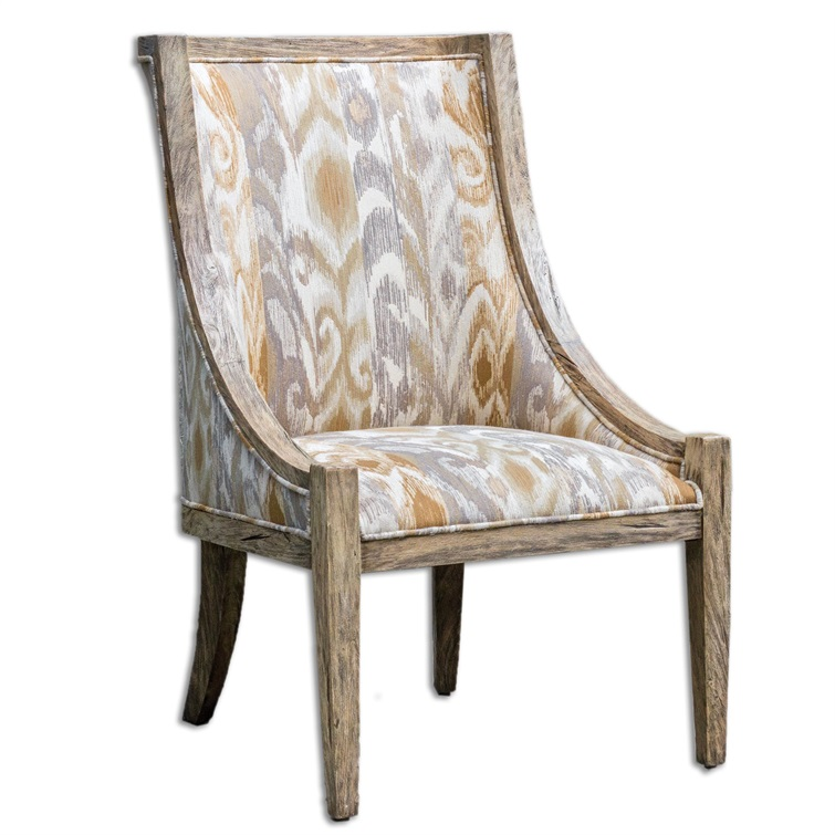 Alabaster Driftwood Chair