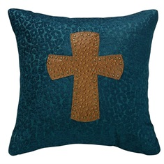 Alamosa Cross Pillow