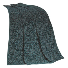 Alamosa Leopard Chenille Throw