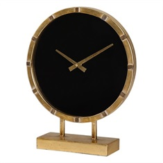 Aldo Gold Table Clock