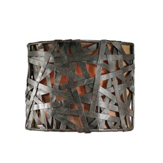 Alita 1 Light Black Wall Sconce