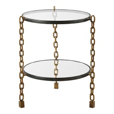 Alonna Chain Accent Table
