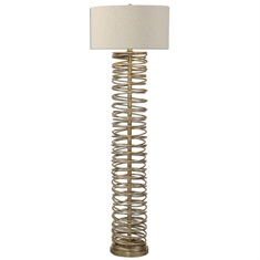 Amarey Metal Ring Floor Lamp