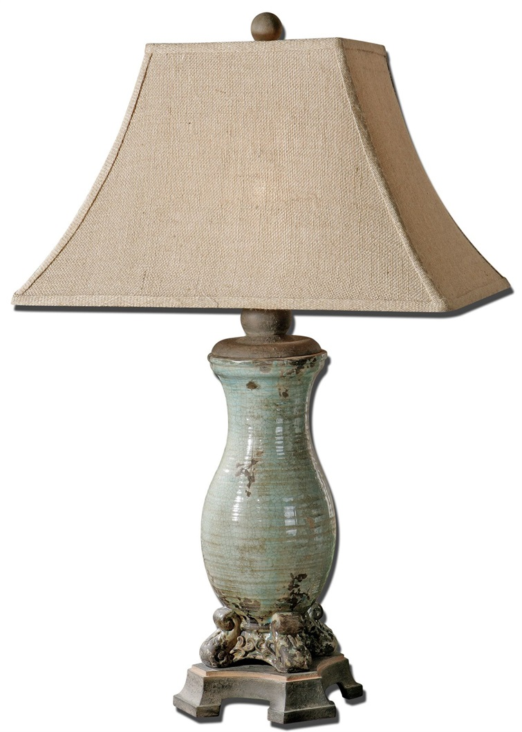 Andelle Light Blue Table Lamp