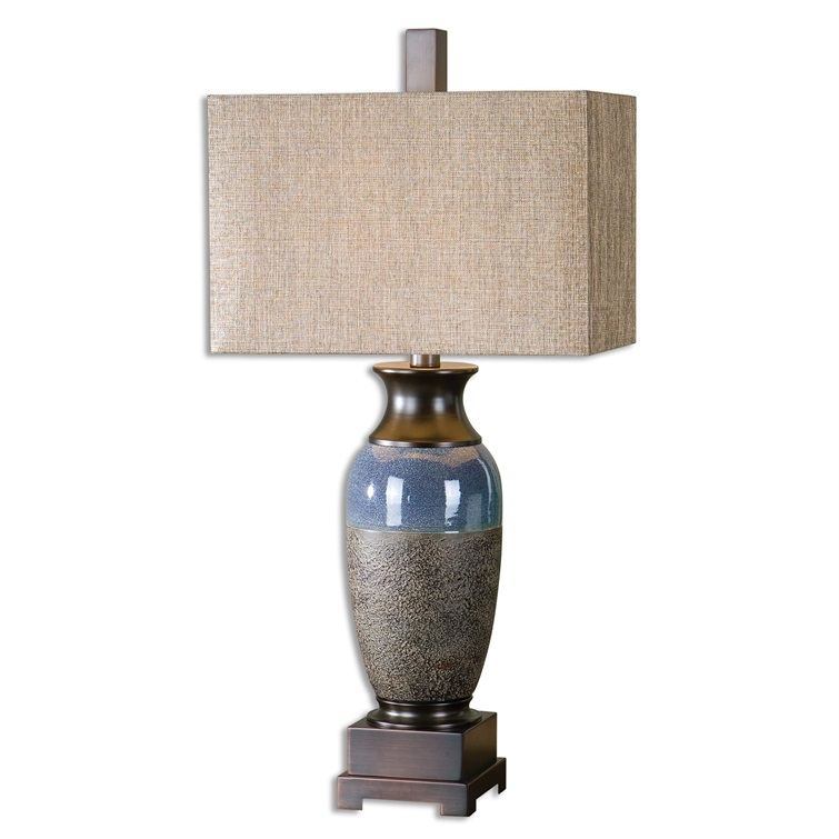 Antonito Textured Ceramic Table Lamp