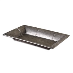 Arya Studded Metal Tray