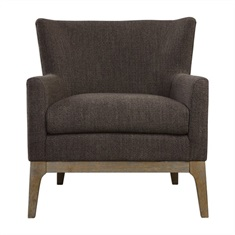 Arzo Dark Gray Armchair