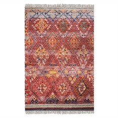 Balgha Hand Knotted Rug Swatch