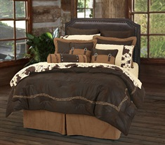 Barbwire Chocolate Comforter Set