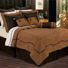 Barbwire Tan Comforter Set