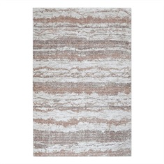 Basilia Brown Hand Woven Rug Swatch