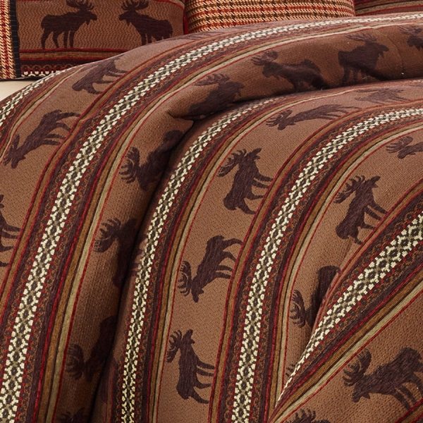 Bayfield Moose Duvet, Twin