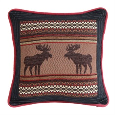 Bayfield Square Moose Pillow