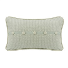 Belmont Linen Button Pillow