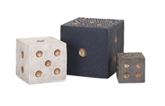 Beth Kushnick Decorative Dice - Set of 3