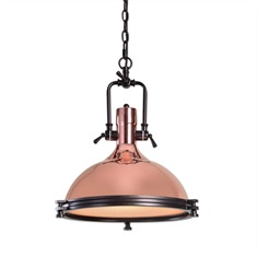 Bingham 1 Light Industrial Pendant