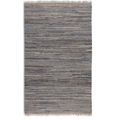 Braymer Hand Woven Rug - Blue Swatch