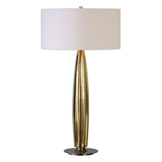 Bremner Gold Table Lamp