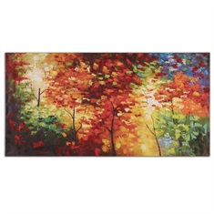 Bright Foliage Canvas Art