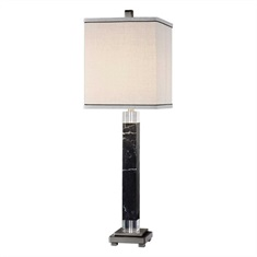 Brigida Black Marble Accent Lamps