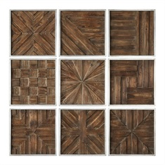 Bryndle Squares Wall Art