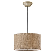 Burleson 3 Light Drum Pendant