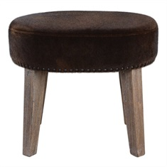 Caballot Chocolate Small Stool