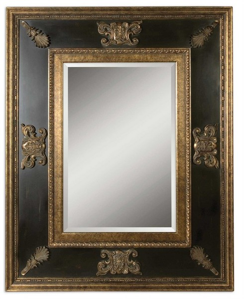 Cadence Antique Gold Mirror