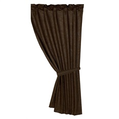Caldwell Faux Tooled Leather Curtain