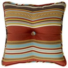 Calhoun Striped Tufted Pillow
