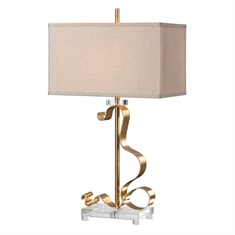 Camarena Bright Gold Lamp