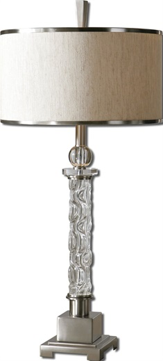 Campania Glass Table Lamp