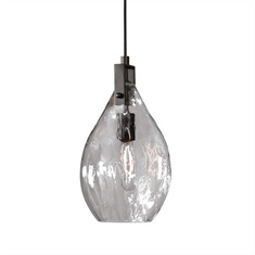 Campester 1 Light Watered Glass Mini Pendant
