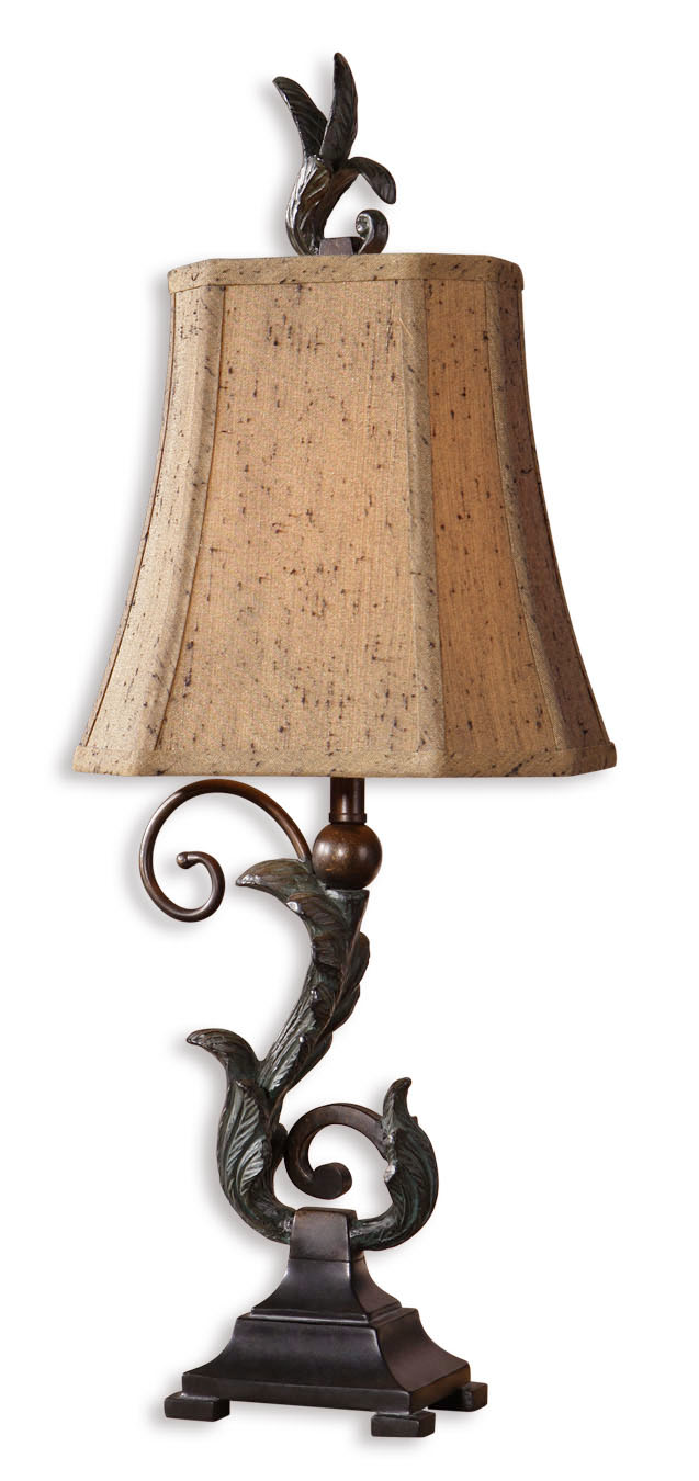 view larger caperana black buffet lamps