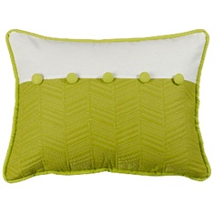 Capri Fern & Quilted Pillow