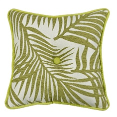 Capri Fern Tufted Pillow