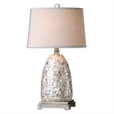 Capurso Capiz Shell Table Lamp