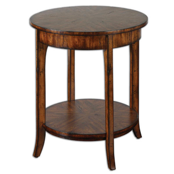 Carmel Round Lamp Table