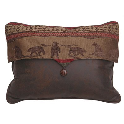 Cascade Lodge Bear Envelop Pillow