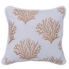 Catalina Saffron Coral Pillow