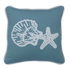 Catalina Star & Shell Pillow