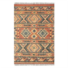 Chaparral Burnt Red Hand Woven Rug Swatch