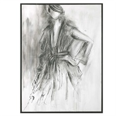 Charcoal Sketch Wall Art