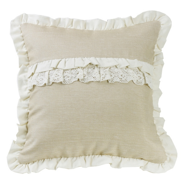 Charlotte Ruffle Pillow