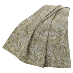 Chenille Paisley Throw
