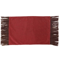 Cheyenne Red Faux Leather Placemat